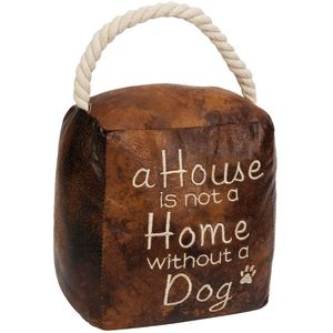 Juliana Home Living Door Stop - A House Is Not A Home Without A Dog
