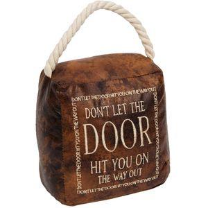 Door Stop - Don't Let The Door Hit You