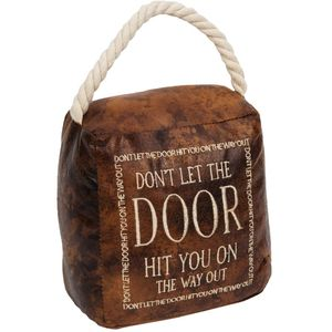 Home Living Door Stop - Don't Let The Door Hit You On The Way Out