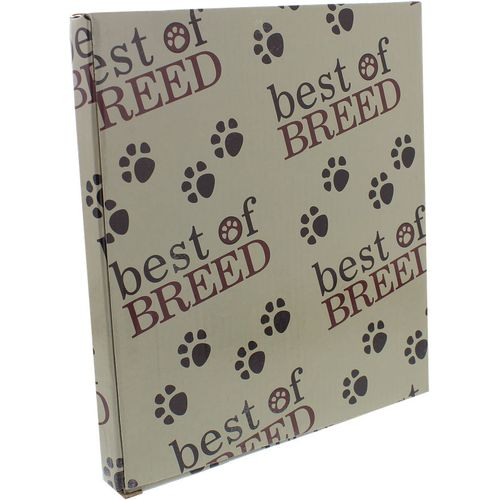"Best of Breed Photo Frame with Metal Lettering 6"" x 4"" - Dog ""WOOF"""