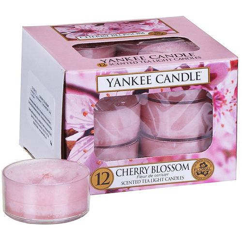 Yankee Candle Tea Lights 12 Pack - Cherry Blossom