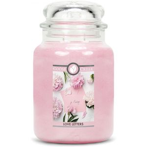 Goose Creek Large Jar Candle - Love Letters