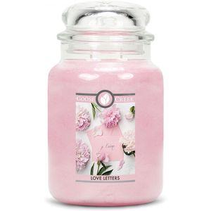 Goose Creek Large Jar Candle - Love Letters
