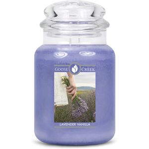 Goose Creek Large Jar Candle - Lavender Vanilla