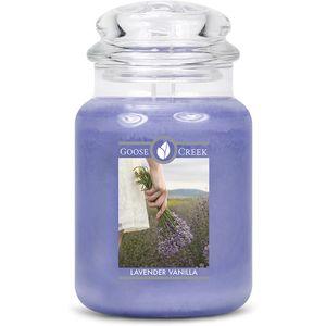 Goose Creek Large Jar Candle - Lavender Vanilla