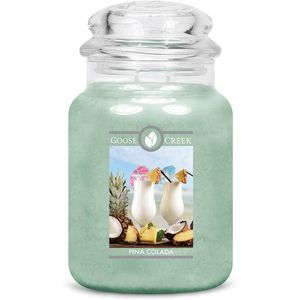 Goose Creek Large Jar Candle - Pina Colada