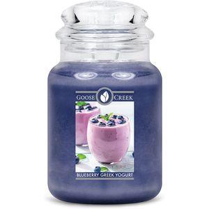 Goose Creek Large Jar Candle Blueberry Greek Yoghurt