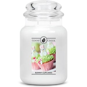 Goose Creek Large Jar Candle - Bunny Cupcakes