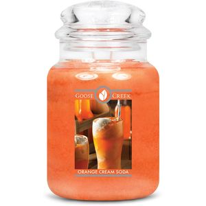 Goose Creek Large Jar Candle - Orange Cream Soda