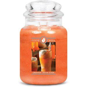 Goose Creek Large Jar Candle Orange Cream Soda