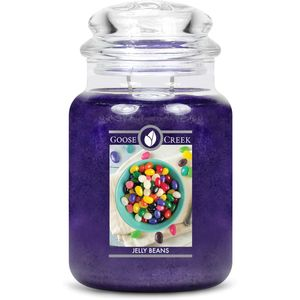 Goose Crek Large Jar Candle Jelly Beans