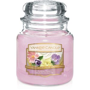 Yankee Candle Medium Jar Floral Candy