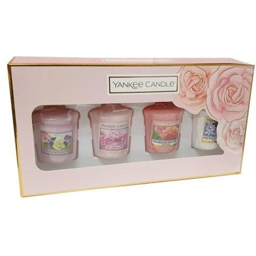 Yankee Candle Gift Set 4 Floral & Fresh Votives 1616357