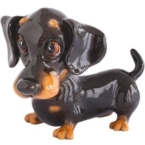 Little Paws Frankie Dachshund Dog Figurine