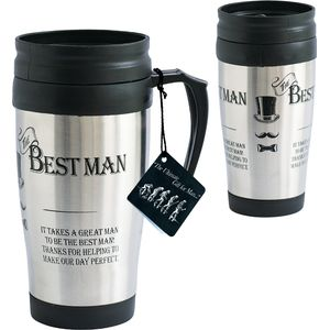 Ultimate Man Gift Travel Mug - The Best Man
