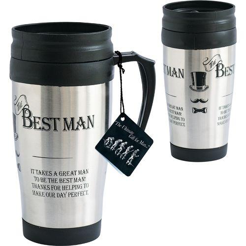 Ultimate Man Gift Travel Mug - The Best Man