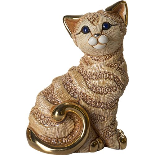 De Rosa Ginger Cat Figurine F215