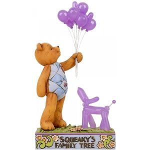 Button & Squeaky by Jim Shore Figurine - Squeak's Family Tree