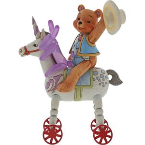 Button & Squeaky by Jim Shore Figurine - Heigh Ho Squeaky
