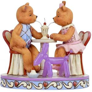 Button & Squeaky by Jim Shore Figurine - Sharing Sweet Times
