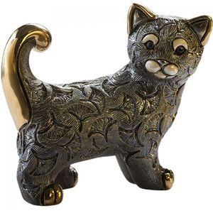 De Rosa Abanico Cat Figurine
