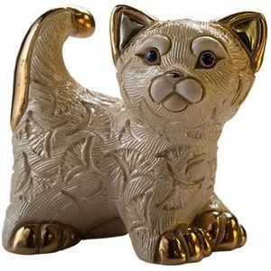 De Rosa Abanico Kitten Figurine