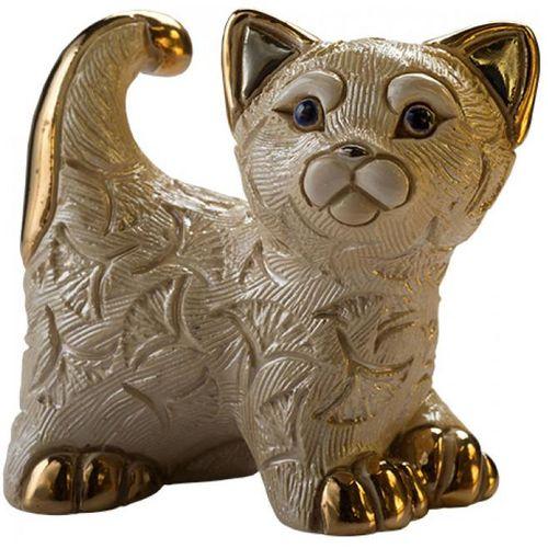 De Rosa Abanico Kitten Figurine F413