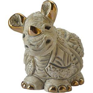 De Rosa Baby White Rhino Figurine