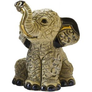 De Rosa Baby Indian Elephant Figurine