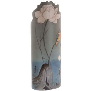 John Beswick Koson - Kingfisher with Lotus Flower Vase