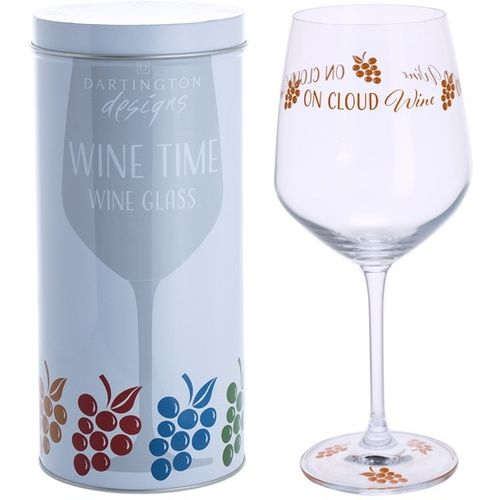 Dartington Wine Glass: Wine Time Collection - Time On Cloud Wine