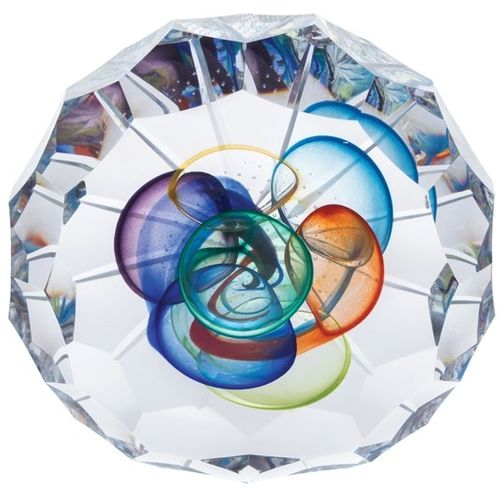 Caithness Crystal Paperweight: Togetherness Annual 2019 L19001