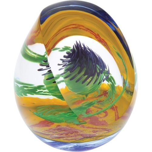 Caithness Glass Paperweight: Scottish Collection Royal Thistle Limited Edition