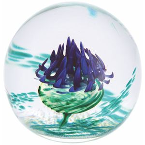 Caithness Glass Paperweight: Scottish Scotia