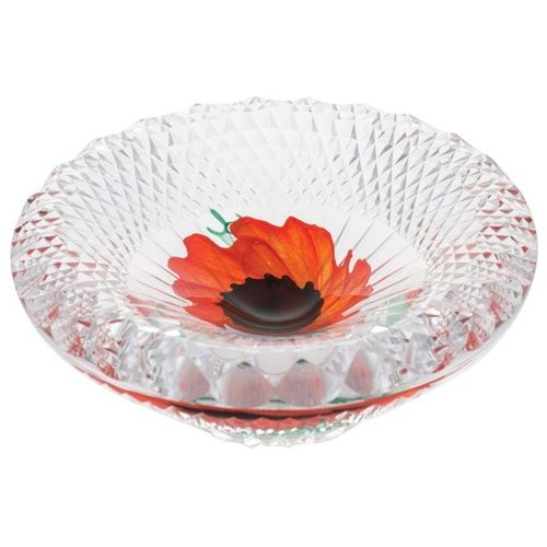 Caithness Glass Dish - Remembrance A Nation`s Thank You