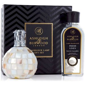Ashleigh & Burwood Fragrance Lamp Gift Set - Arctic Tundra & Fresh Linen