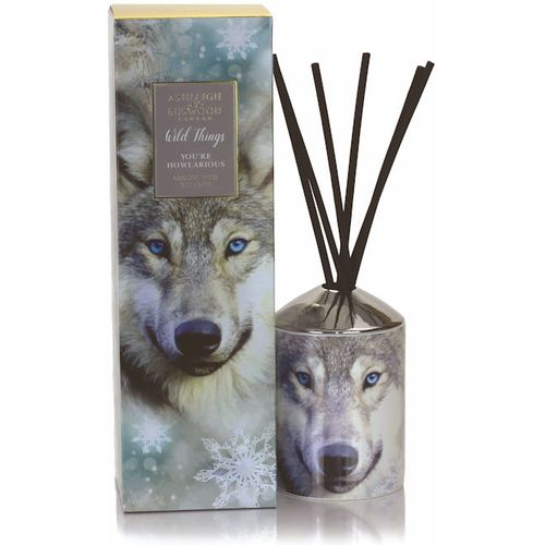 Ashleigh & Burwood Reed Diffuser Set: Wild Things You`re Howlarious
