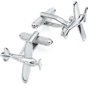 De Havilland Plane Cufflinks