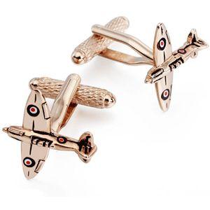 Spitfire Cufflinks - Rose Gold Finish