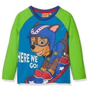 Boys Paw Patrol Long Sleeved T Shirt Top Age 6 Years