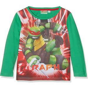 Boys TMNT Long Sleeved T Shirt Top Age 8 Years