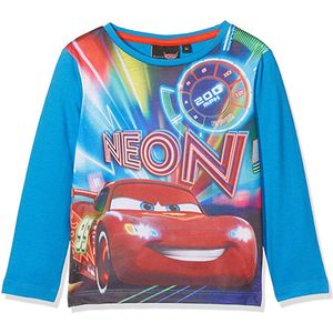 Boys Disney Cars Long Sleeved T Shirt Top Age 8 Years
