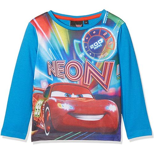 Disney Cars Lightning McQueen Long Sleeved Top - Age 8 Years