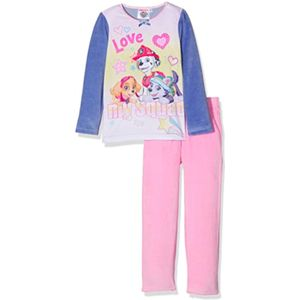 Girls Paw Patrol Pink & Lilac Pyjamas Age 6 Years