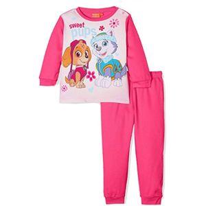 Girls Paw Patrol Fuchsia Pyjamas Age 3 Years