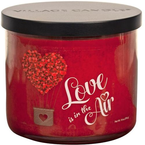 Village Candle Medium Bowl - Occasions: Love is in the Air