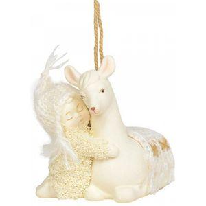 Peaceful Kingdon Llama Ornament