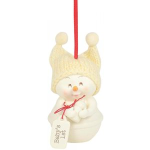 Snowbabies Baby 1st Ornament
