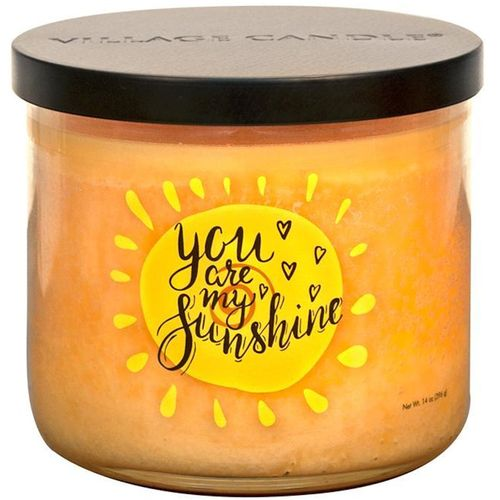Village Candle Medium Bowl Occasions  - You are my Sunshine