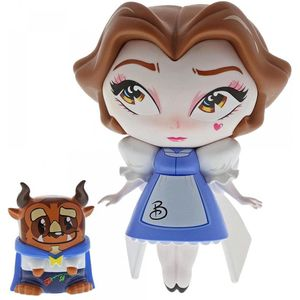 Disney Miss Mindy Vinyl Figurine - Belle with The Beast (Beauty & The Beast)